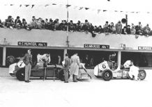 Alta's of Hunter & Abecassis Brooklands 1938